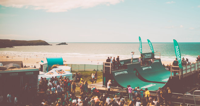 CANNA returns to Boardmasters 2018