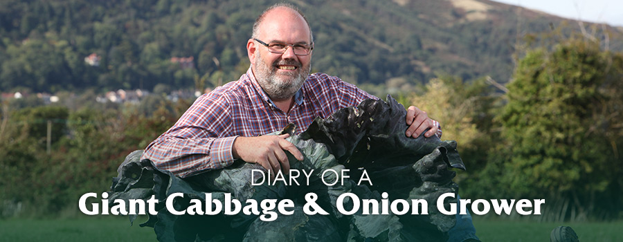 Campaign: Diary of a Giant Cabbage & Onion Grower David Thomas