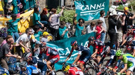 CANNA visited the Tour de France