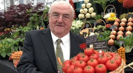 Record-breaking veg grower scoops twelfth gold on Chelsea return